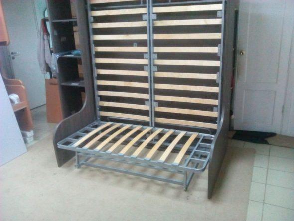 Механизм вертикальной шкаф-кровати