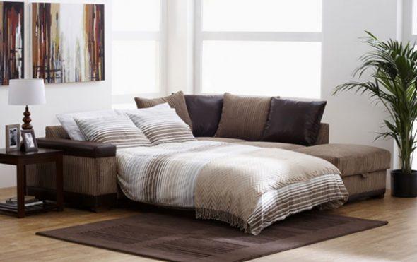 Мягкий раскладной диван