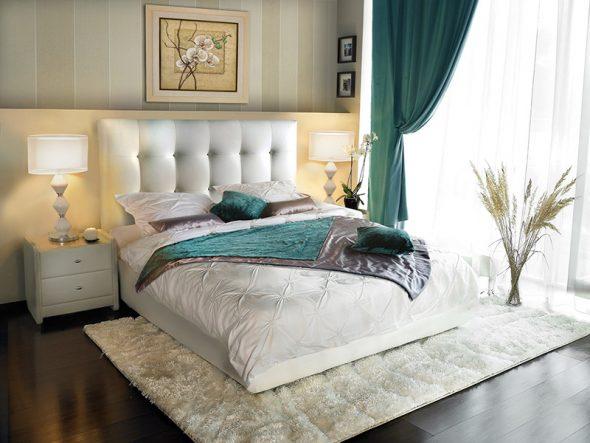 Надежная, стильная и современная кровать Silvana