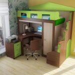 Оригинальный детский уголок для комнаты подростка
