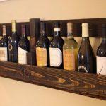 Подставка для вина ручной работы