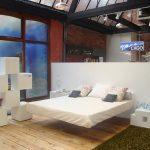 Подвесная кровать - изделие, которое выглядит современно, практично, универсально