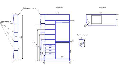 Расчет размеров дверей