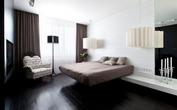 Парящая кровать без спинки