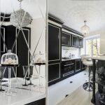Зеркало для кухни в стиле ар-деко