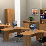 Деревянная мебель для персонала