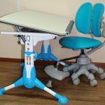 Фото детского компьютерного стула с регулировкой высоты для школьника