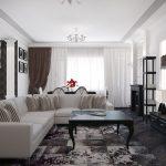 Как расставить мебель в гостиную