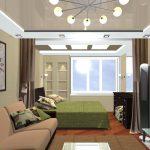 Правильно создаем асимметричное расположение мебели в гостиной