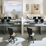 Расстановка мебели в офисах