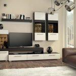 Светлая современная мебель в гостиную