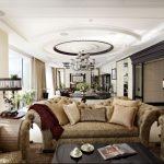 Вариант симметричной гостиной
