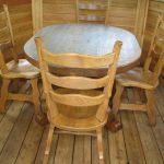 Деревянная мебель для беседки своими руками