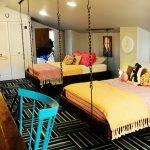 Детские подвесные кровати в интерьере