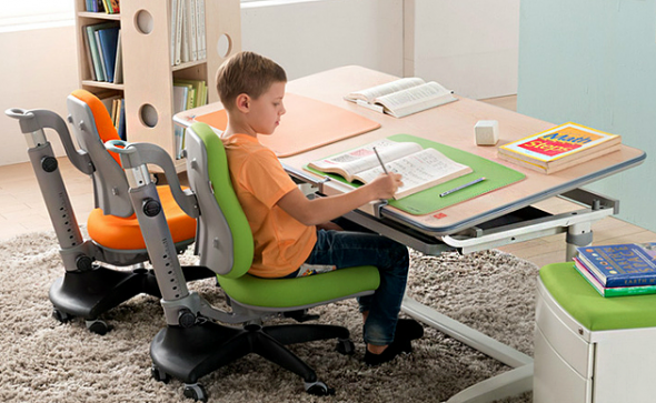Детский стол-трансформер для двоих детей
