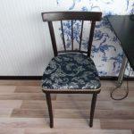 Фото стула после восстановления своими руками