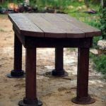 Классический прямоугольный столик