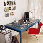 Красивый декоративный стол своими руками