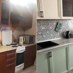 Кухня до и после переделки своими руками