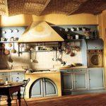 Кухня своими руками в деревенском стиле