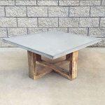 Квадратный бетонный стол своими руками