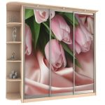 """Милый шкаф для спальни """"Тюльпаны"""""""