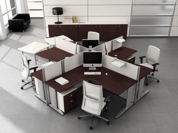 Необычный вариант офиса
