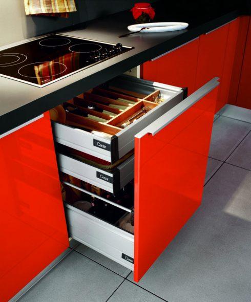 Нижние шкафы для кухни