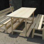 Передвижная мебель в беседку — компактная и легкая