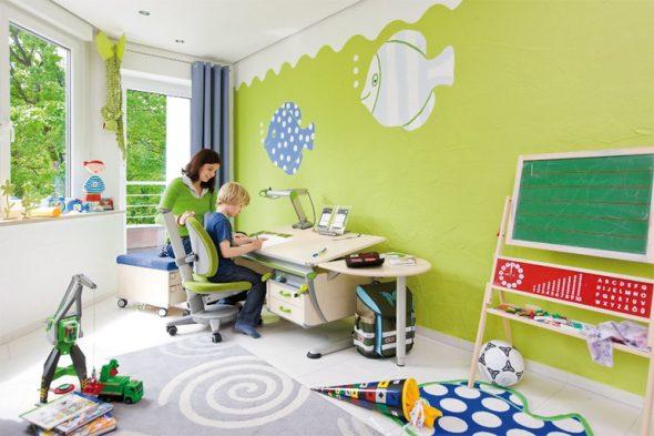 Рабочее место ребенка