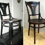 Пример реставрации венского стула