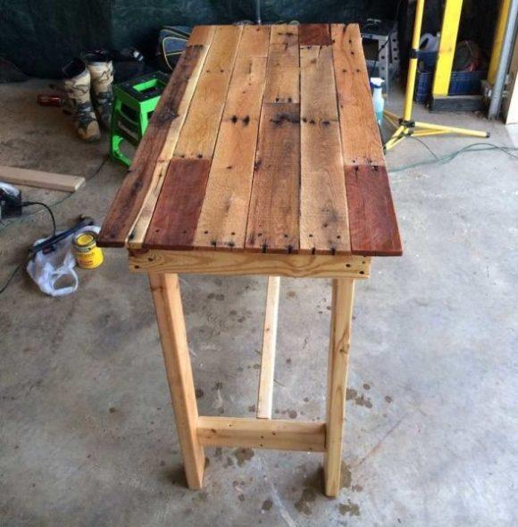 Сделанный своими руками стол