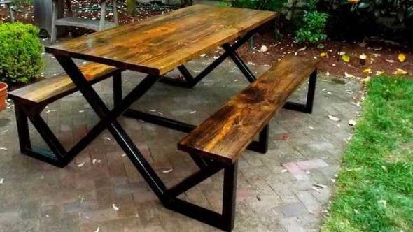Рама для стола из металла