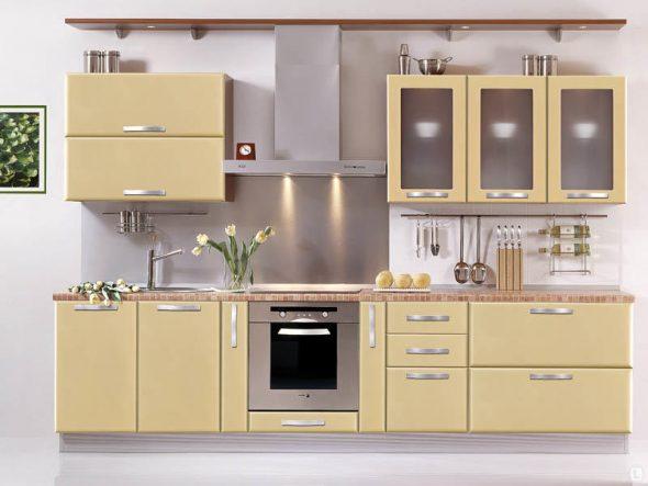 Стандартные кухонные гарнитуры