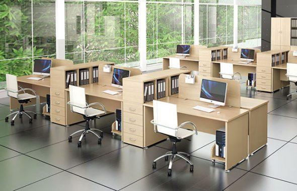 Стандартные наборы мебели