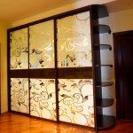 Завитки для оформления дверей шкафа