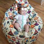 Бескаркасное кресло-мешок для детей