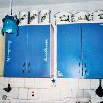 Декор кухонных шкафчиков своими руками