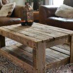 Деревянные поддоны для стола для гостиной своими руками