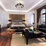 Если площадь комнаты позволяет - можно разместить и кровать и диван