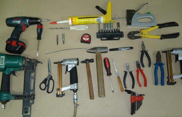 Инструменты для перетяжки стульев