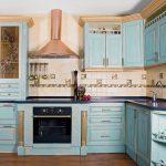 Интерьер кухни в стиле прованс своими руками