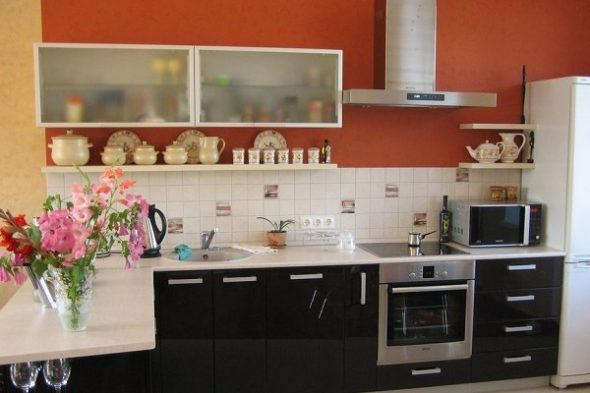 Красивая кухня в современном стиле