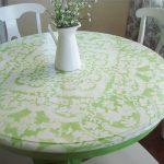 Красивый кружевной стол своими руками