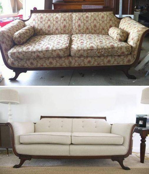 Красивый новый диван