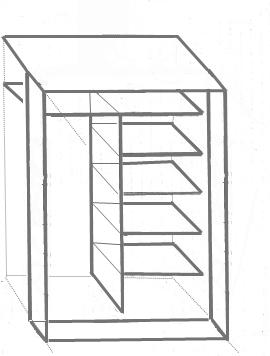 Крепление верхней панели