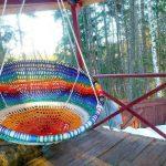 Кресло-гнездо легко сделать самостоятельно