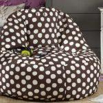 Кресло-мешок в горошек