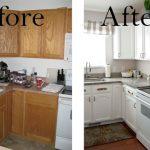 Кухня до и после самостоятельного ремонта