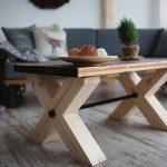 Квадратный стол своими руками в стиле лофт